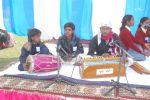 Children presenting musical programs